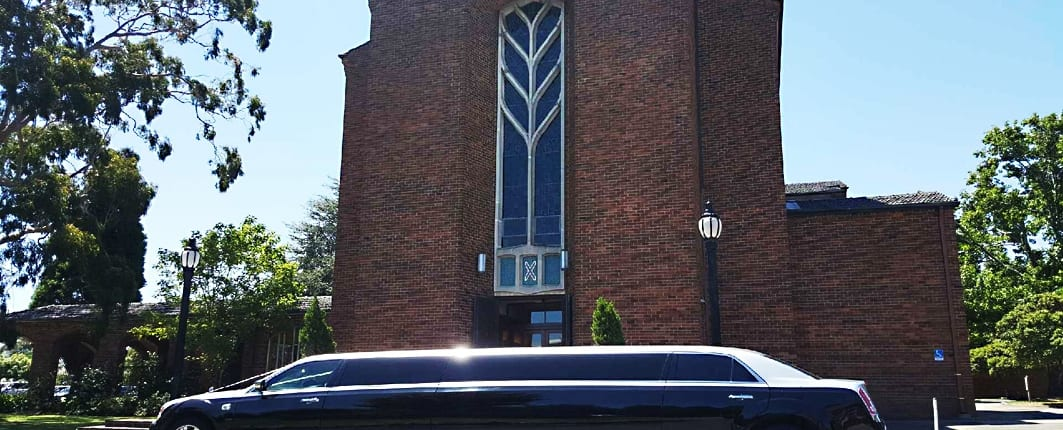 12 seater Limo Wedding Hire