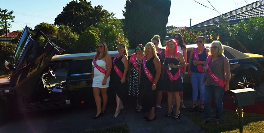 Hens Party Limo Service Melbourne